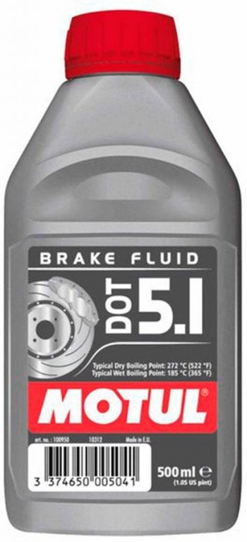 LIQUIDO FRENOS MOTUL DOT 5.1 BRAKE FLUID   0,5 LT