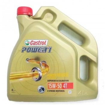 ACEITE CASTROL 4T POWER 1 15W50 4L