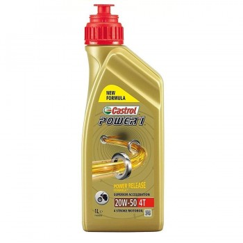 ACEITE CASTROL 4T POWER 1 20W50 1L.