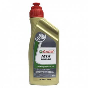 ACEITE CASTROL MTX 10W40 1L. 2T