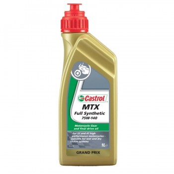 ACEITE CASTROL 4T MTX FULL SYNTHETIC 75W140 1L.