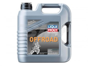 ACEITE LIQUI-MOLY GARRAFA 4L 2T OFFROAD