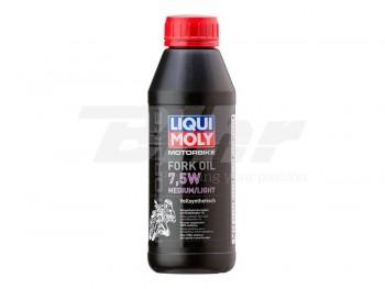 BOTE 500ML LIQUI-MOLY FORK O.7,5W MED/LIGHT