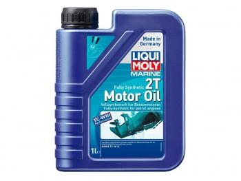 ACEITE LIQUI-MOLY BOTELLA 1L MOTOR 2T MARINE 100% SINTÉTICO NMMA TC-W3 BIODEGRADABLE