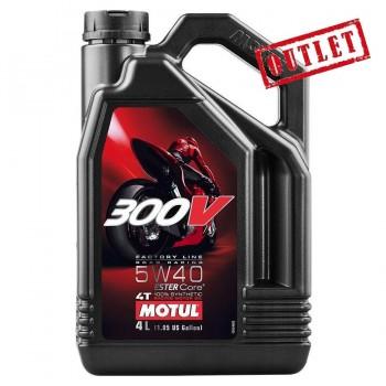 ACEITE MOTUL 300V 5W40 4L.
