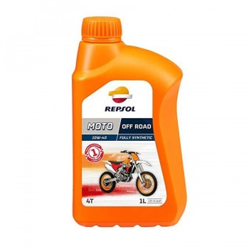 ACEITE REPSOL OFF ROAD 10W40 1 L.