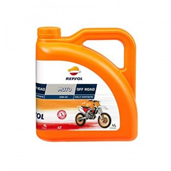 ACEITE REPSOL OFF ROAD 10W40 4 L.