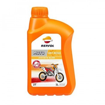 ACEITE REPSOL OFF ROAD 2T 1 L.