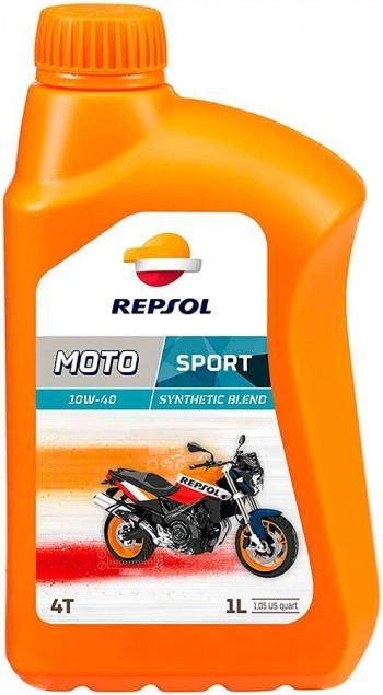 ACEITE REPSOL MOTO SPORT SEMISINTETICO  4T. 10W40 1L.