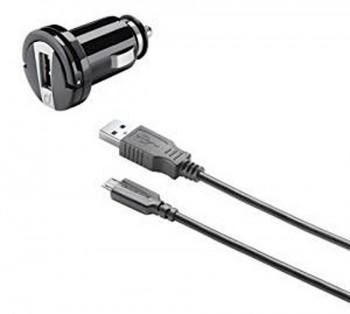 CARGADOR DE MECHERO + CABLE USB/USB MICRO CELLULAR    CBRUSBCCMICROUSB