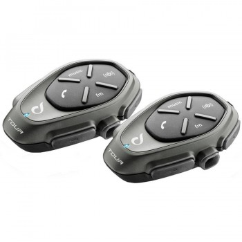 INTERCOMUNICADOR BLUETOOTH INTERPHONE CELLULARLINE TOUR PACK 2