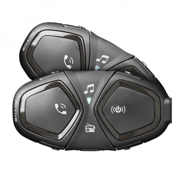 INTERCOMUNICADOR BLUETOOTH INTERPHONE CELLULARLINE ACTIVE PACK 2