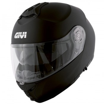 CASCO GIVI MODULAR X.20 EXPEDITION MONOCOLOR COL.NEGRO MATE
