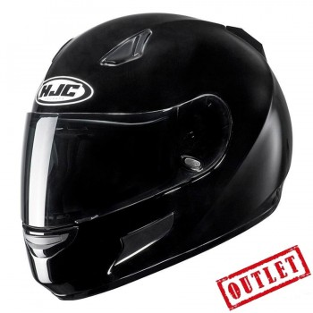 CASCO HJC INTEGRAL CL-SP SOLID BLACK (NEGRO BRILLO)