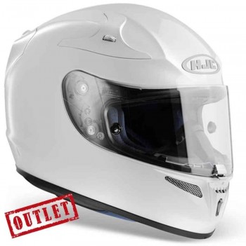 CASCO HJC RPHA10 BLANCO T/XL
