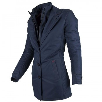CHAQUETA BY CITY TRENCH COAT LADY BLUE