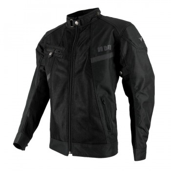CHAQUETA BY CITY SUMMER ROUTER MAN BLACK