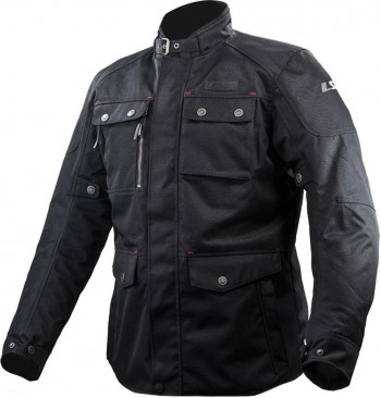 CHAQUETA LS2 SPORT TOURING BOND MAN BLACK (NEGRA)