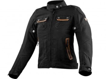 CHAQUETA LS2 SPORT TOURING BULLET LADY BROWN (NEGRO)