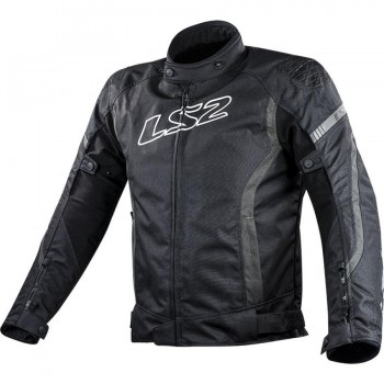 CHAQUETA LS2 SPORT TOURING GATE MAN BLACK DARK GREY (GRIS)