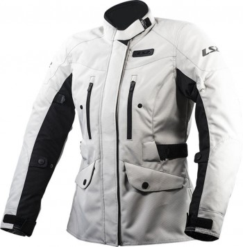 CHAQUETA LS2 SPORT TOURING METROPOLIS LADY LIGHT GREY (GRIS)