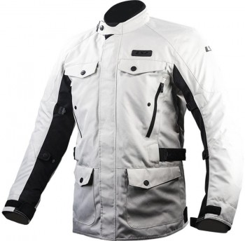 CHAQUETA LS2 SPORT TOURING METROPOLIS MAN LIGHT GREY (GRIS)