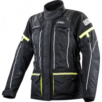 CHAQUETA LS2 SPORT TOURING NEVADA LADY BLACK HI-VIS YELLOW