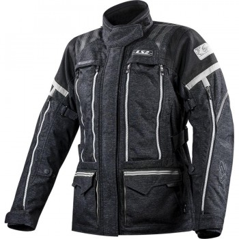 CHAQUETA LS2 SPORT TOURING NEVADA LADY BLACK DARK GREY