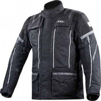 CHAQUETA LS2 SPORT TOURING NEVADA MAN BLACK DARK GREY