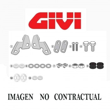 ANCLAJES CUPULA GIVI BMW.R.NINE-T.1200.14-16   A5115A