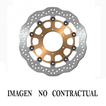 DISCO CUBIC FLOTANTE NUCLEO ACERO  292X5mm (sin stock, solo bajo pedido)   DF680FLQ