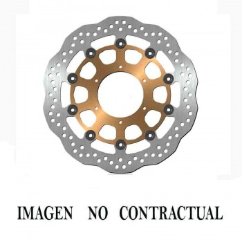 DISCO CUBIC FLOTANTE (NUCLE ACERO) 300X5mm (sin stock, solo bajo pedido)   DF835FLQ