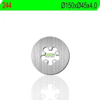 DISCO FRENO NG 244  150 X  45 X 4