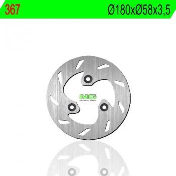 DISCO FRENO NG 367  180 X  58 X 3.5