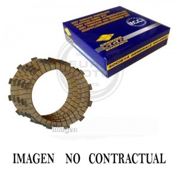 DISCOS EMBRAGUE FCC HONDA CBR 1000 RR    DK50123