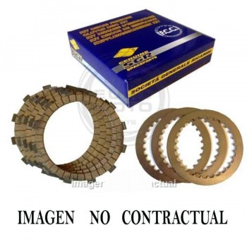 KIT DISCOS EMBRAGUE FCC COMPLETO HONDA CR 125    DK60040