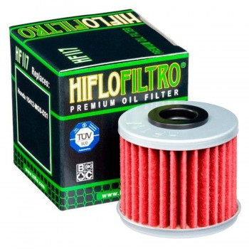 FILTRO ACEITE HIFLOFILTRO HF-117