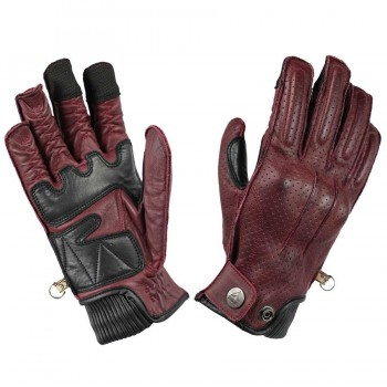 GUANTES BY CITY OXFORD LADY BURGUNDY