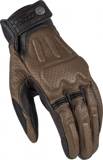 GUANTE VERANO LS2 RUST MAN GLOVES BROWN LEATHER