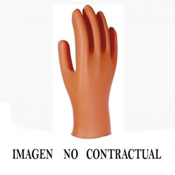 GUANTES DE NITRILO (CAJA DE 100)  COLOR NEGRO - TALLA XL    35891