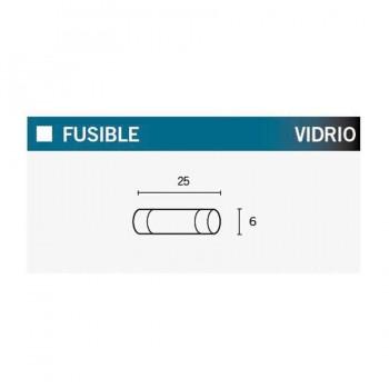 FUSIBLES (CAJA DE 100) 7A 25MM  6X25-7S   14692