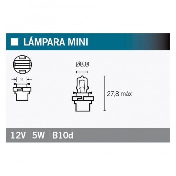 BOMBILLA LAMPARA OSRAM 64124MF   14994