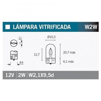 BOMBILLA LAMPARA OSRAM (CAJA 10 UNIDADES) 2820   15017