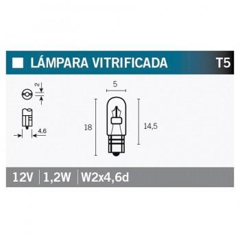 BOMBILLA LAMPARA OSRAM (CAJA 10 UNIDADES) 2721   15020