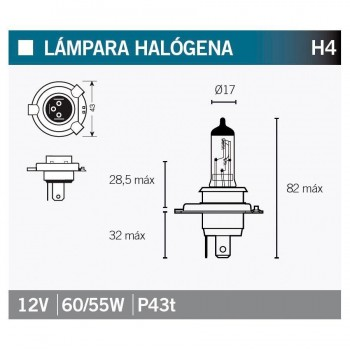 BOMBILLA LAMPARA OSRAM 64193   15033