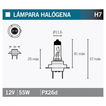 BOMBILLA LAMPARA OSRAM 64210   15039