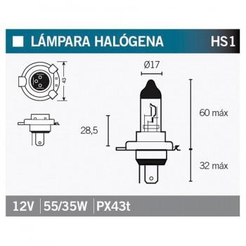 BOMBILLA LAMPARA OSRAM 64185   15051