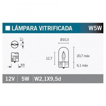 BOMBILLA LAMPARA OSRAM (CAJA 10 UNIDADES) 2825   15067