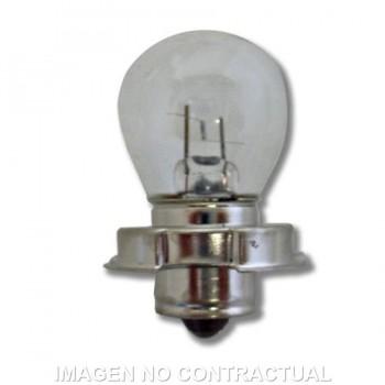BOMBILLA LAMPARA HERT DE ÓPTICA CICLOMOTOR 6V 15W   2000401L