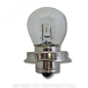 BOMBILLA LAMPARA HERT DE ÓPTICA CICLOMOTOR 12V 15W   2000410L